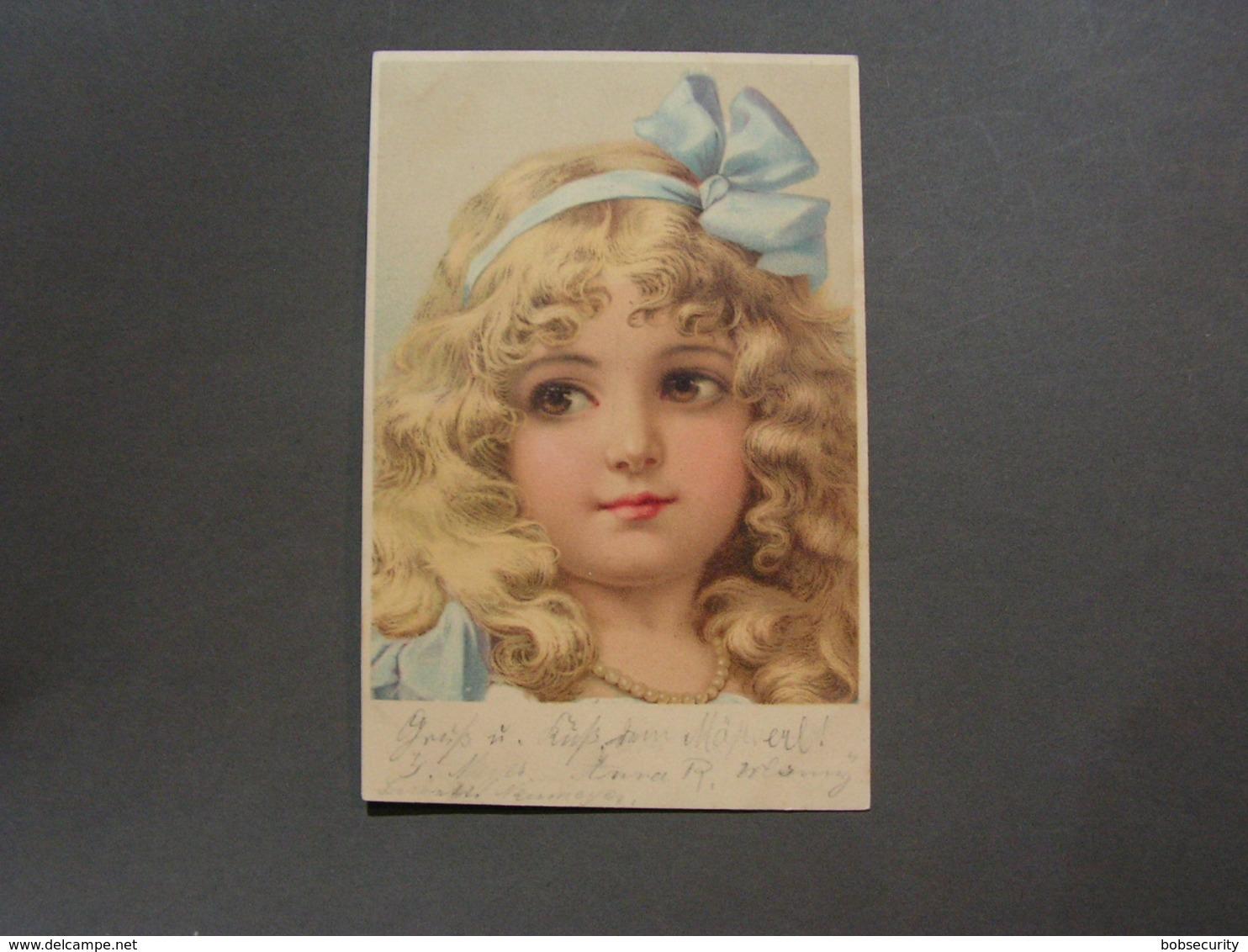Kind Künstler AK 1903 - Abbildungen