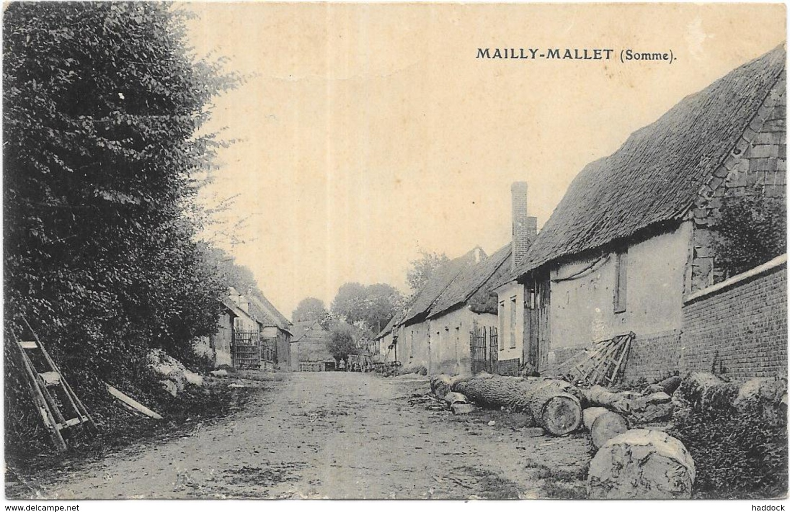 MAILLY MAILLET - Francia