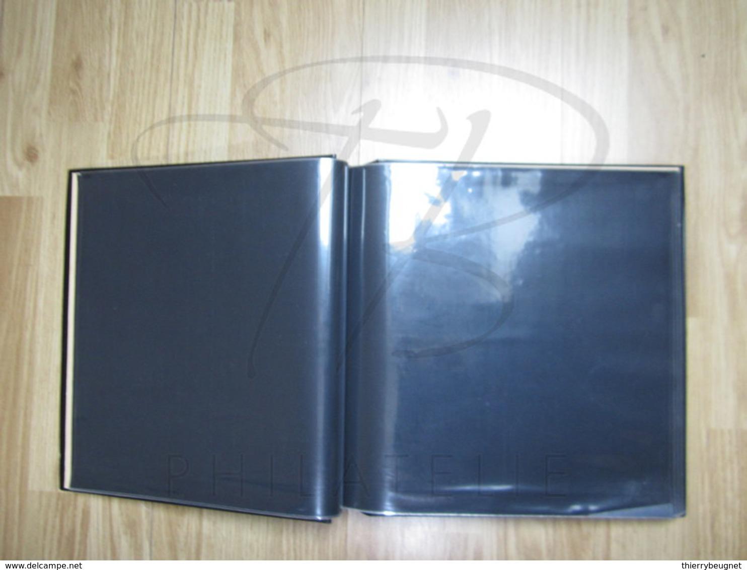 VEND ALBUM POUR 100 FEUILLES , NOIR !!! (d) - Binders With Pages