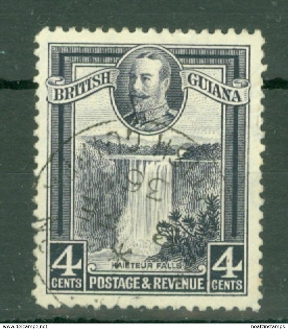 British Guiana: 1934/51   KGV - Pictorial   SG291   4c   Used - Guyane Britannique (...-1966)