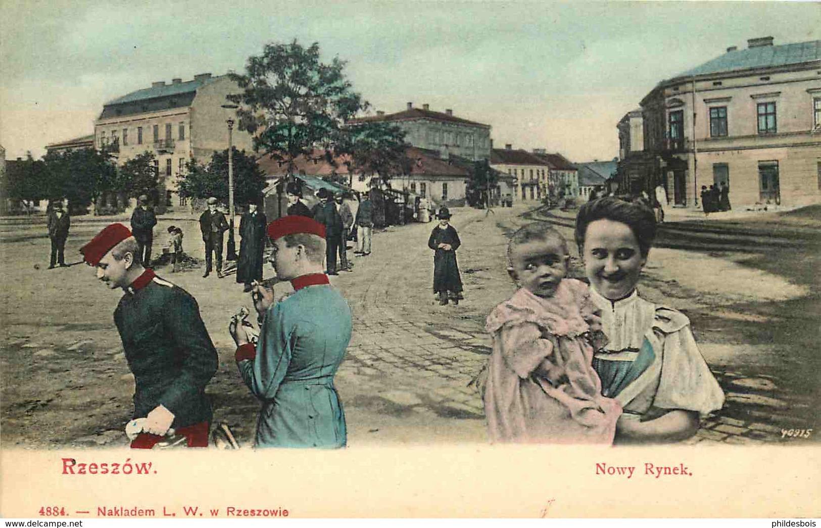 POLOGNE  RZESZOW - Poland