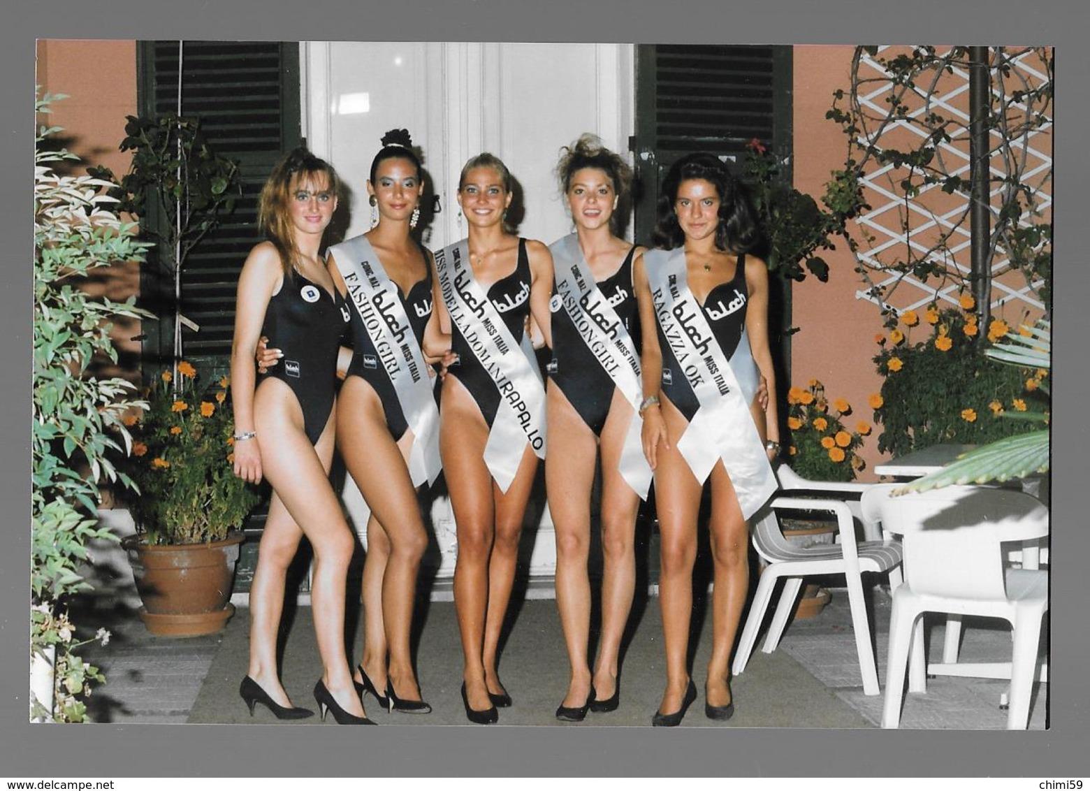 PHOTO  -  FEMME - GIRL - WOMAN - MISS  - LINGERIE  -  PHOTO CM. 10X15 - Pin-ups