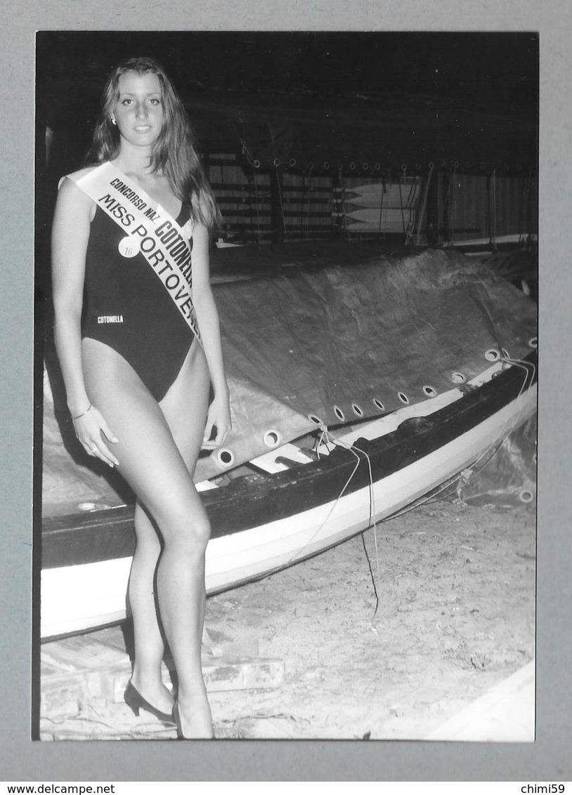 PHOTO  -  FEMME - GIRL - WOMAN - MISS  PORTOVENERE - LINGERIE  -  PHOTO CM. 10,5X14,5 - Pin-ups