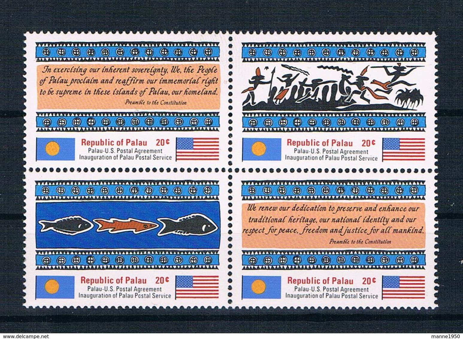 Palau 1983 Mi.Nr. 1/4 Kpl. Satz ** - Palau