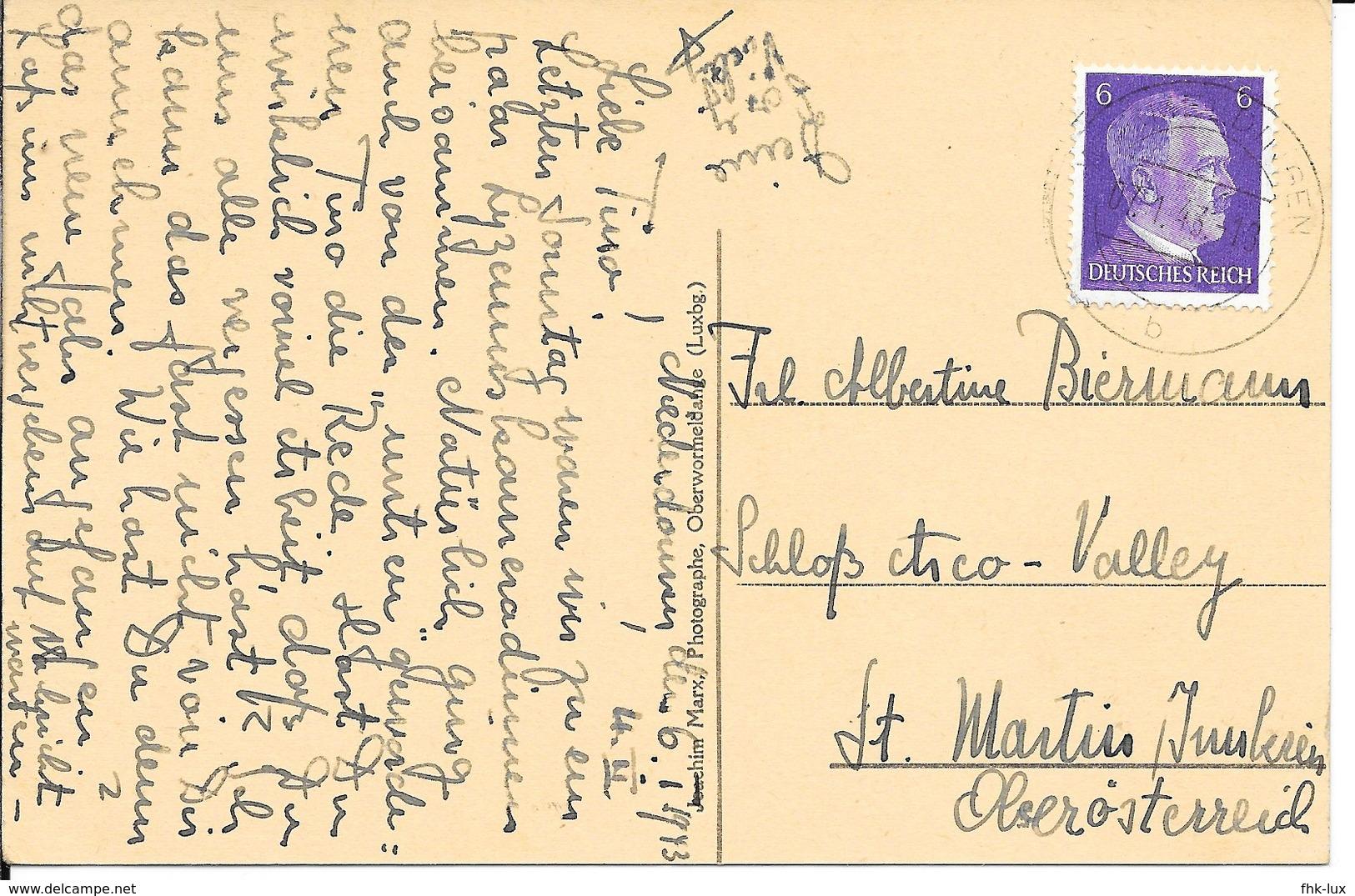 CARTE POSTALE ANCIENNE  NIEDERDONVEN  1933  - LUXEMBOURG - Postcards