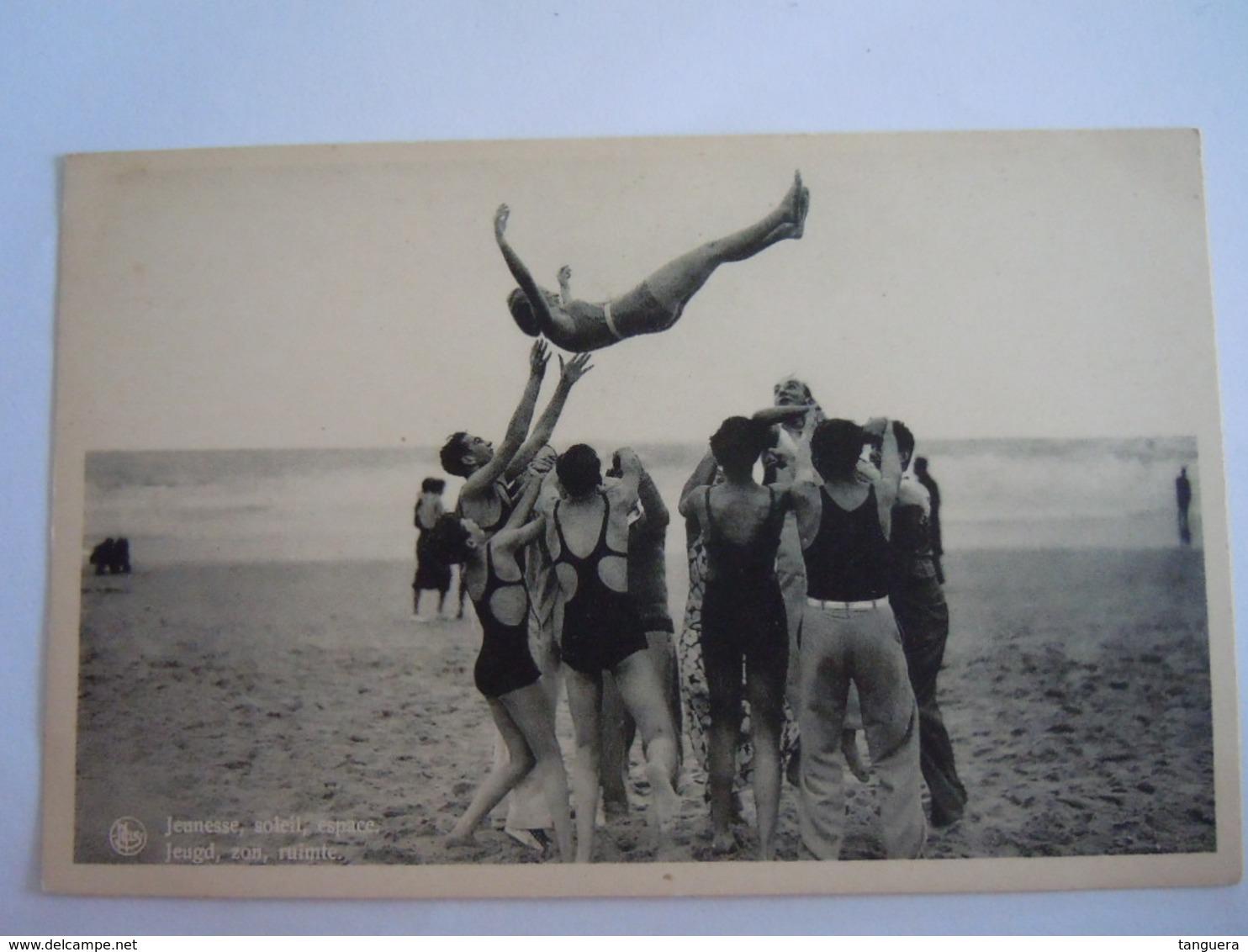 Ostende Oostende Jeunesse Soleil Espace Baigneuses Plage Jeugd Zon Ruimte Strand Nels Edit Librairie Internationale - Oostende