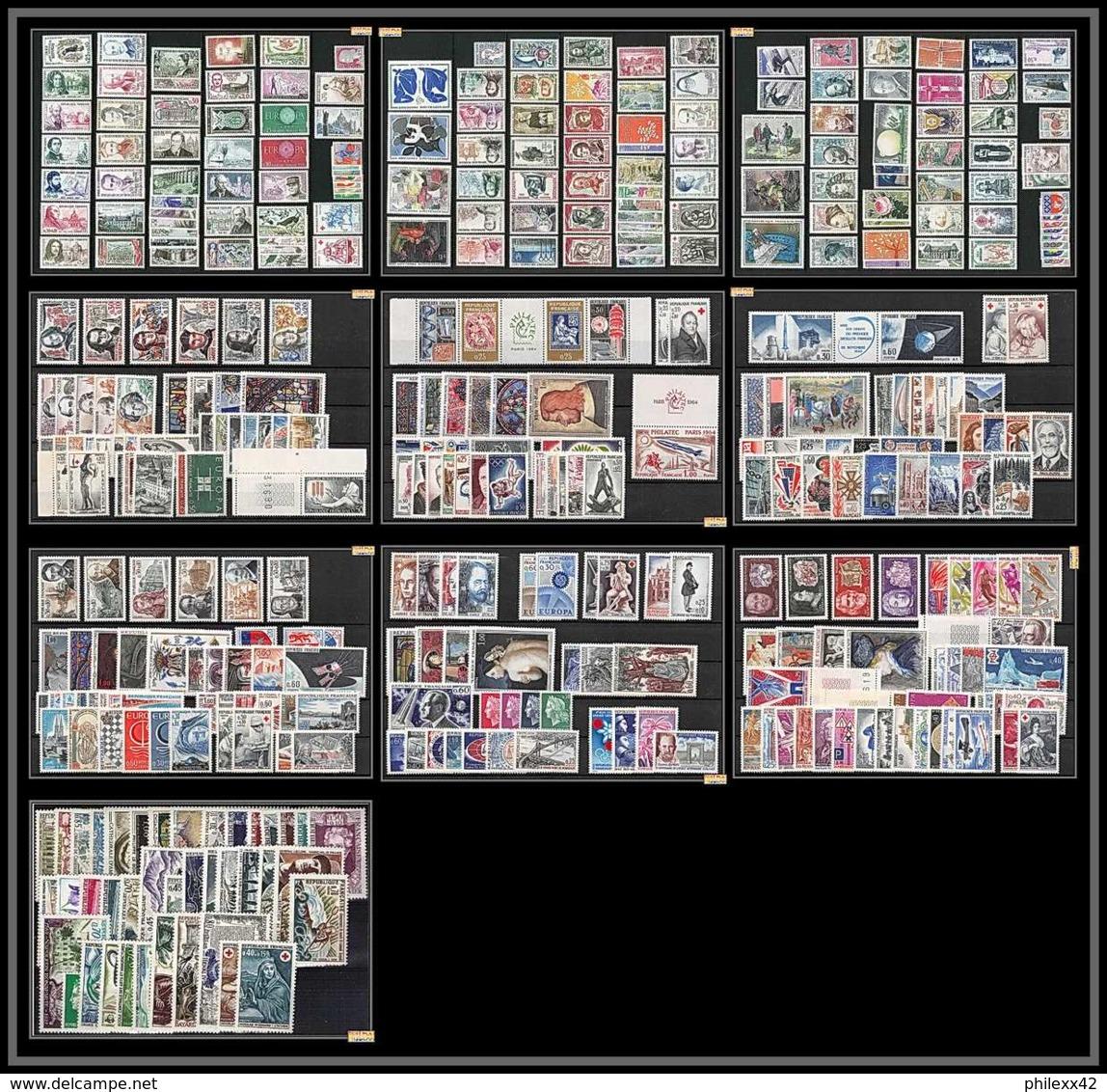 Départ 1 EURO - FRANCE COMPLET 1960 / 1969 NEUF ** A SAISIR  COTE 388 EUROS VOIR SCANS - ....-1939