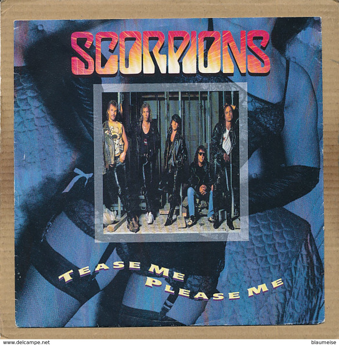 "7"" Single, Scorpions - Tease Me Please Me - Rock"