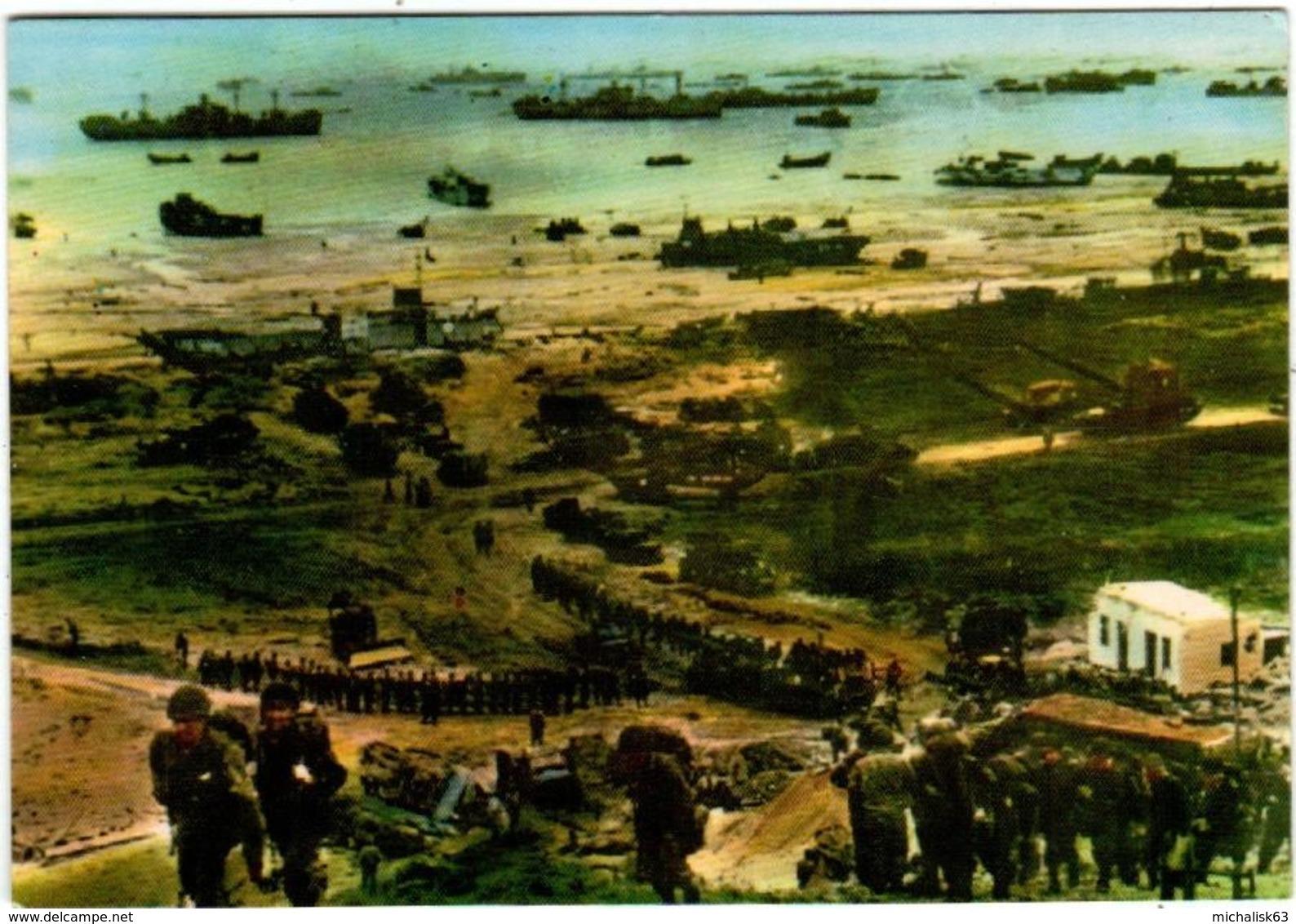 51bk 2013 FRANCE - LES TROUPES AMERICAINES  ( DIMENSIONS 10 X 15 CM) - Guerre 1939-45