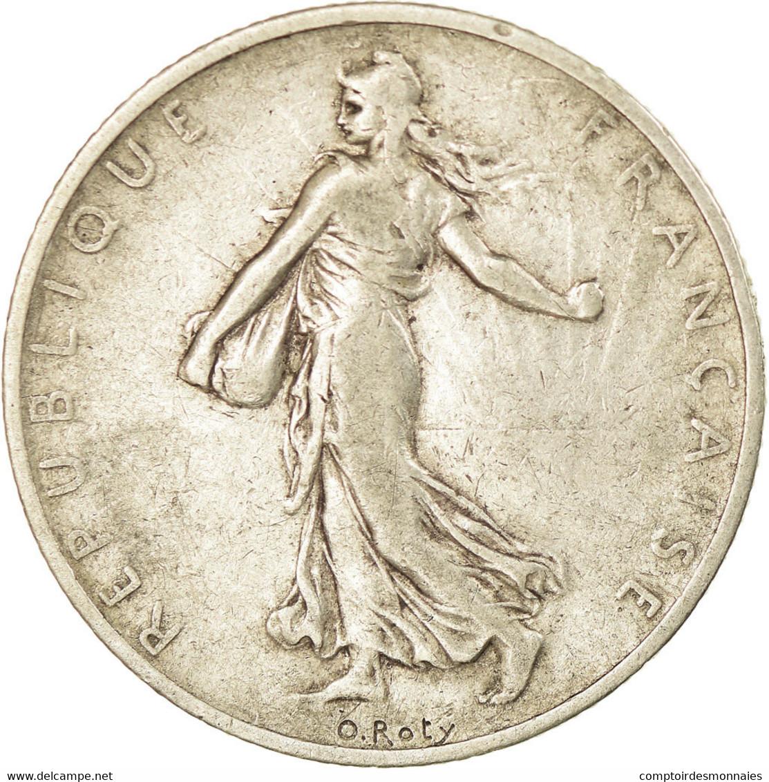 Monnaie, France, Semeuse, 2 Francs, 1898, Paris, TB+, Argent, KM:845.1 - France