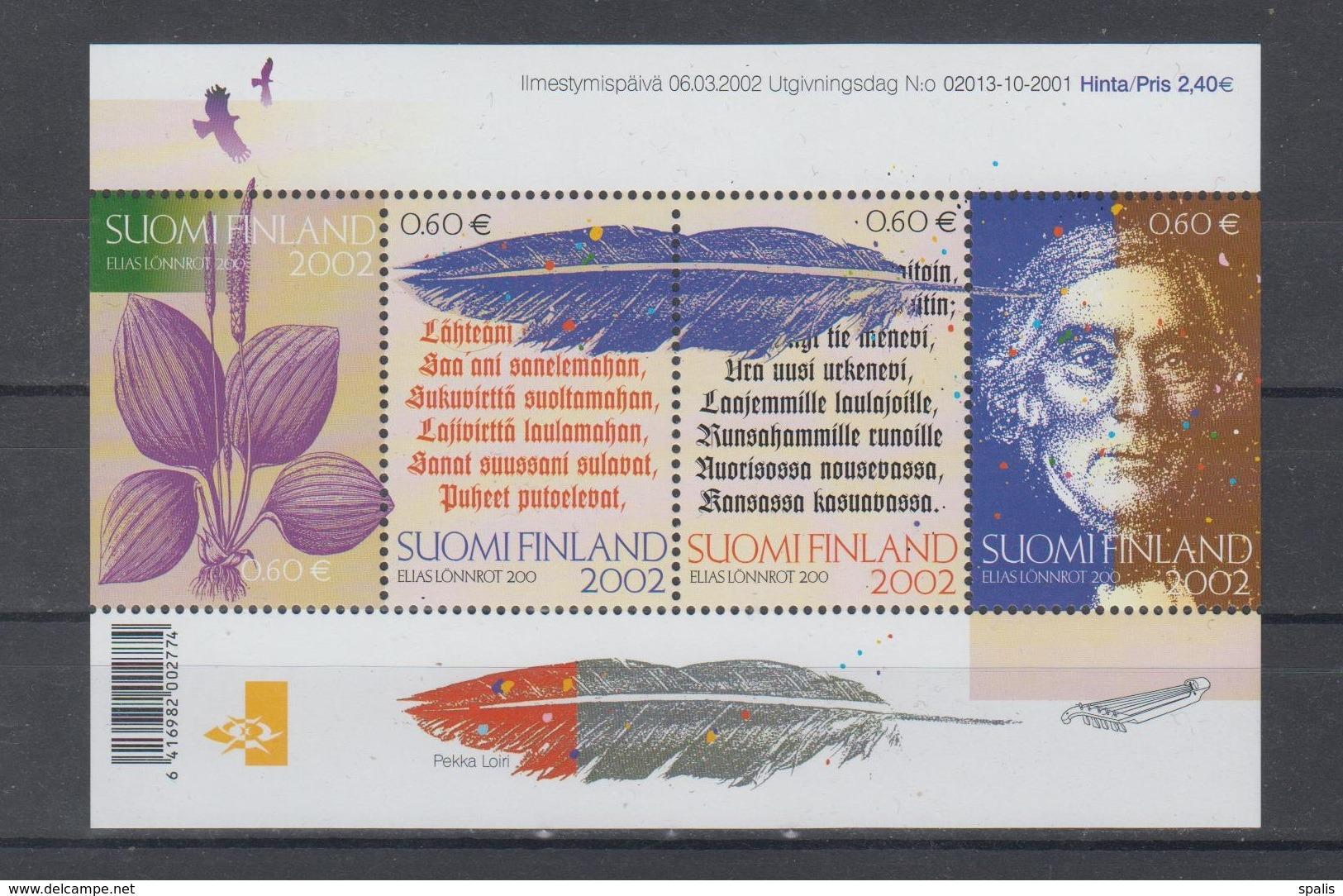 Finland 2002 Mi Bl 28 Mnh - Finlande
