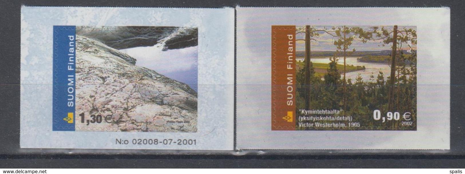 Finland 2002 Mi 1605-6 Mnh Nature - Finlande