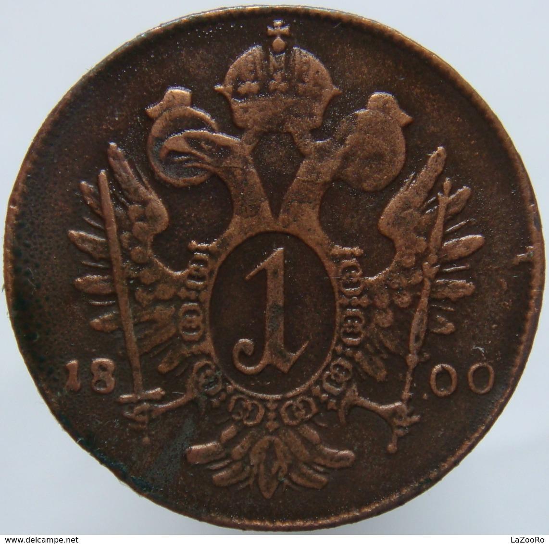 LaZooRo: Austria 1 Kreuzer 1800 A XF - Autriche