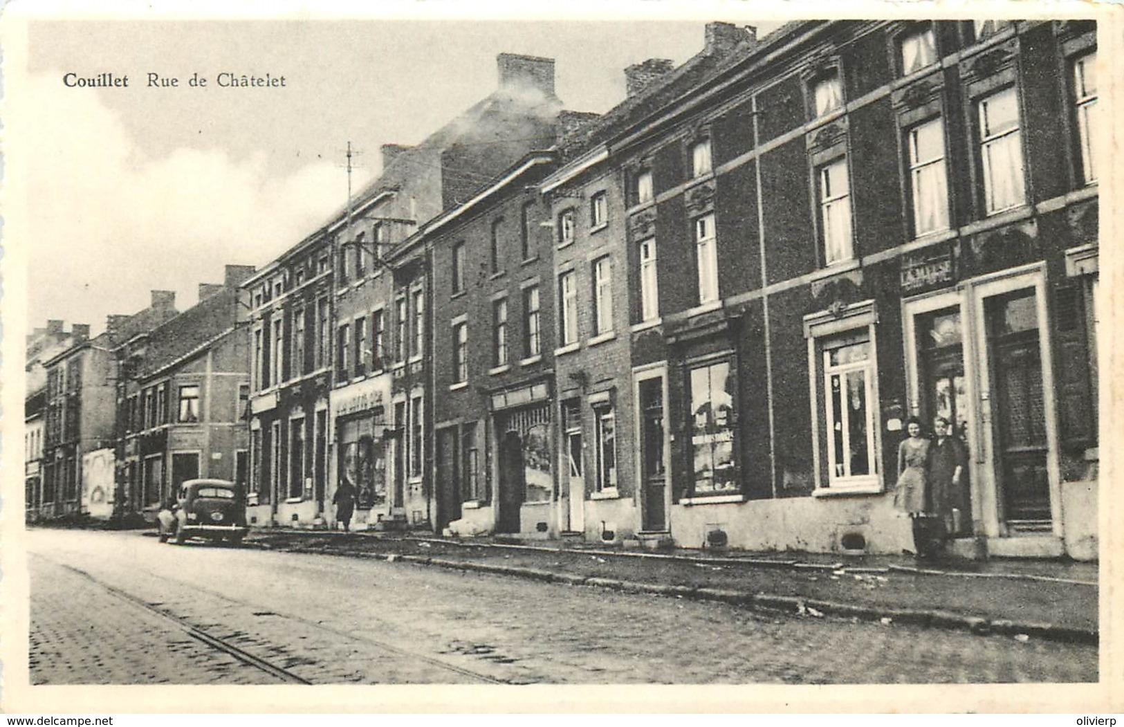 Belgique - Charleroi - Couillet : Rue De Chatelet - Charleroi