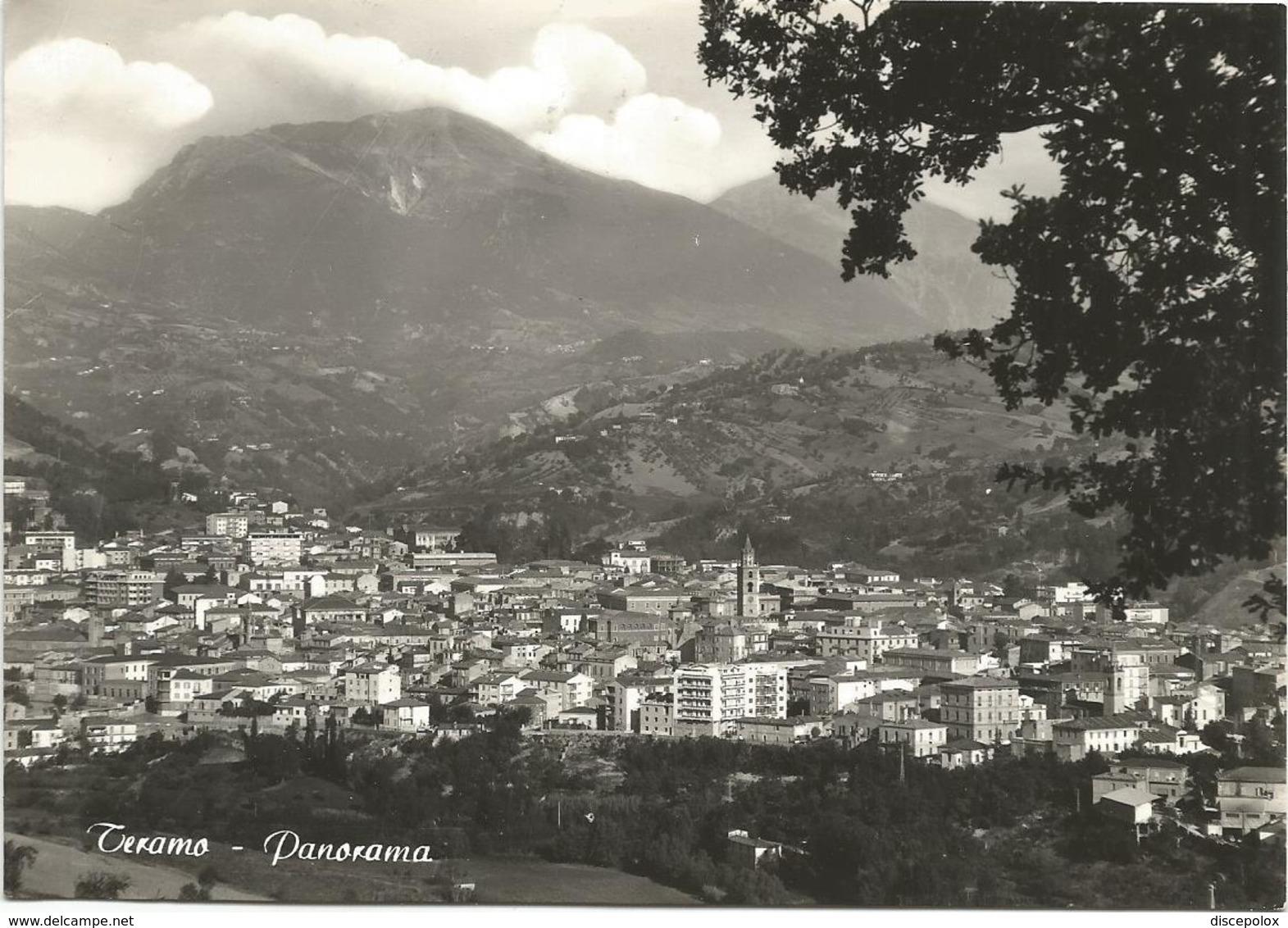 Y5068 Teramo - Panorama Della Città / Viaggiata 1962 - Teramo