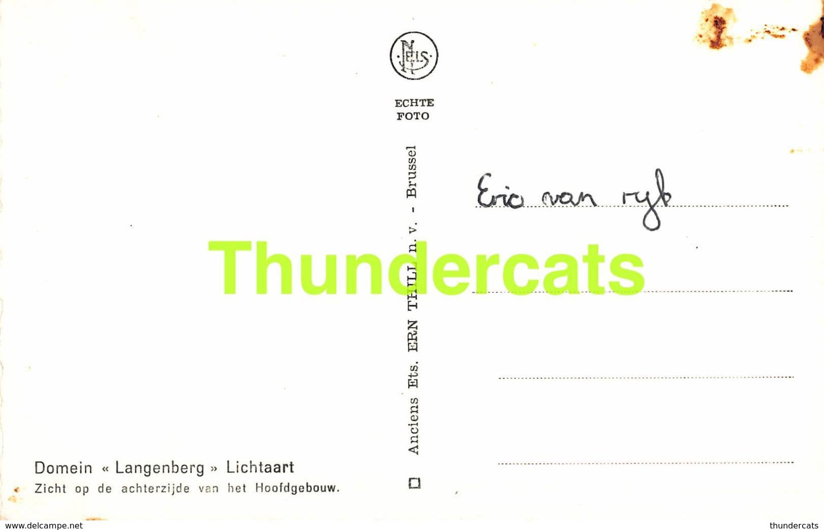 CPA DOMEIN LANGENBERG LICHTAART - Kasterlee