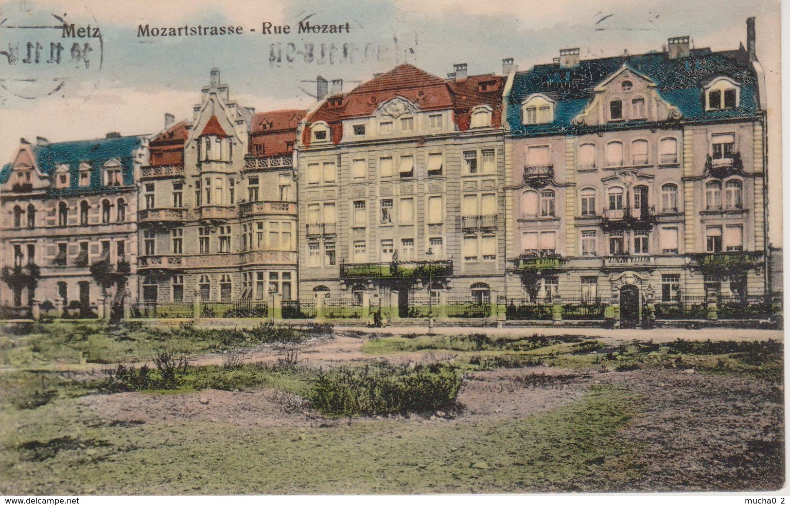 57 - METZ - RUE MOZART - Metz