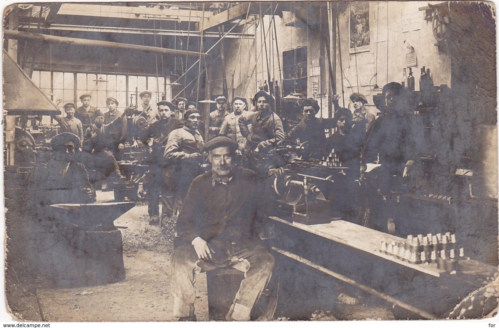 Ain : SAULT-BRENAZ : Usine Reconvertie - Fabrication D'obus ( Militaria Guerre 1914-1918 ) Voir Au Dos Correspondance - Frankrijk