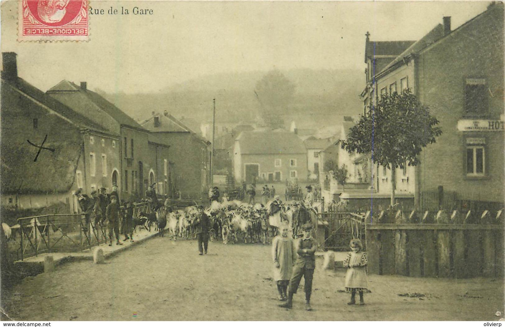 Belgique - Messancy - Rue De La Gare - Messancy