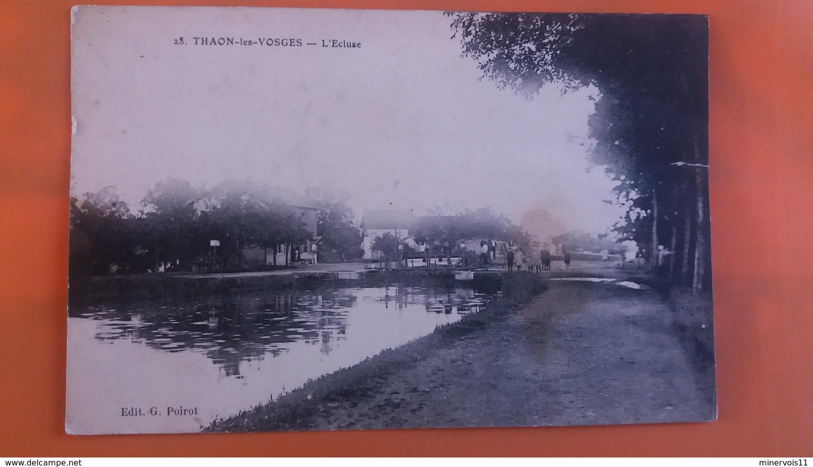 Thaon Les Vosges - L'ecluse.....voir Scan Recto Verso - Thaon Les Vosges