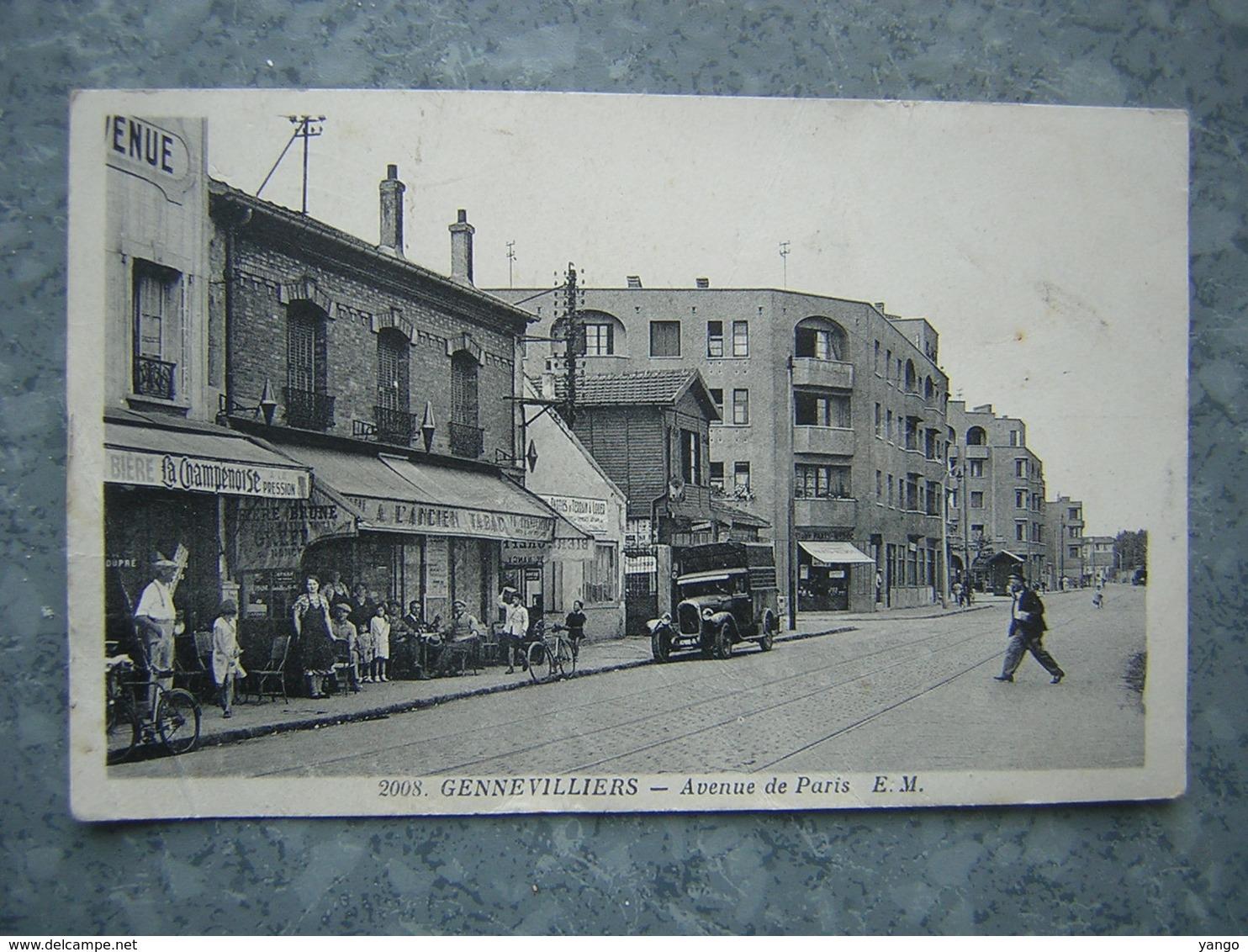 GENNEVILLIERS - AVENUE DE PARIS - Gennevilliers