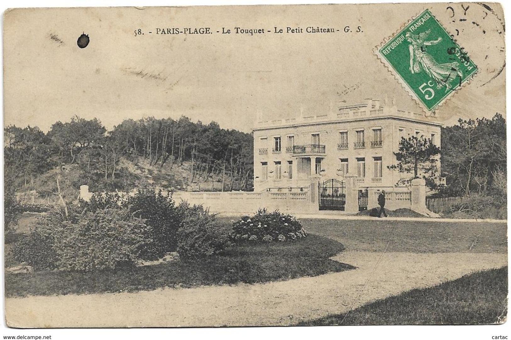 D62 - PARIS PLAGE - LE TOUQUET - LE PETIT CHÂTEAU - Frankrijk