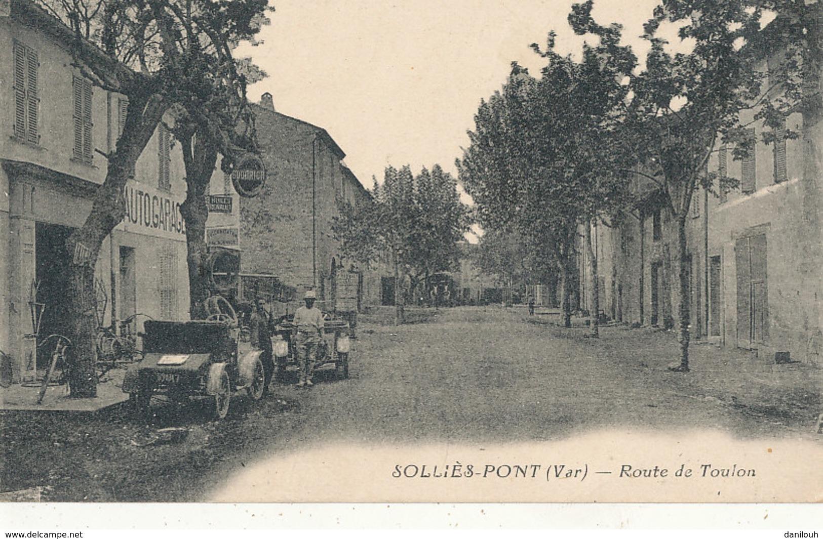 83 // SOLLIES PONT   Route De Toulon - Sollies Pont