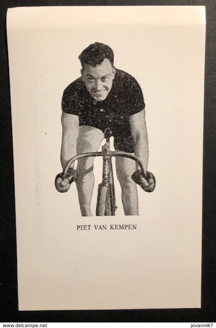 Piet Van Kempen - Carte / Card - Zesdaagse -  Cyclists - Cyclisme - Ciclismo -wielrennen - Wielrennen