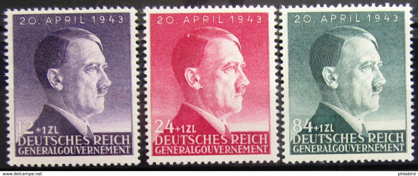 ALLEMAGNE Occupation En POLOGNE                   N° 112/114                    NEUF** - Occupation 1938-45