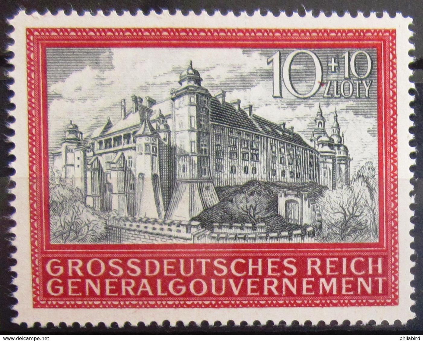 ALLEMAGNE Occupation En POLOGNE                   N° 136                       NEUF SANS GOMME - Occupation 1938-45