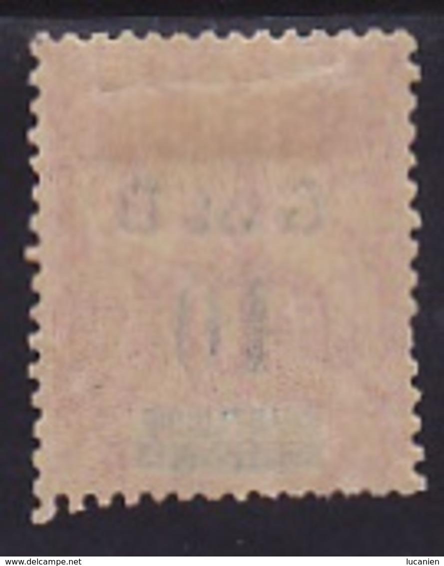 Guadeloupe N° 46 (i)  Neuf *- Voir Verso & Descriptif - - Guinée Française (1892-1944)