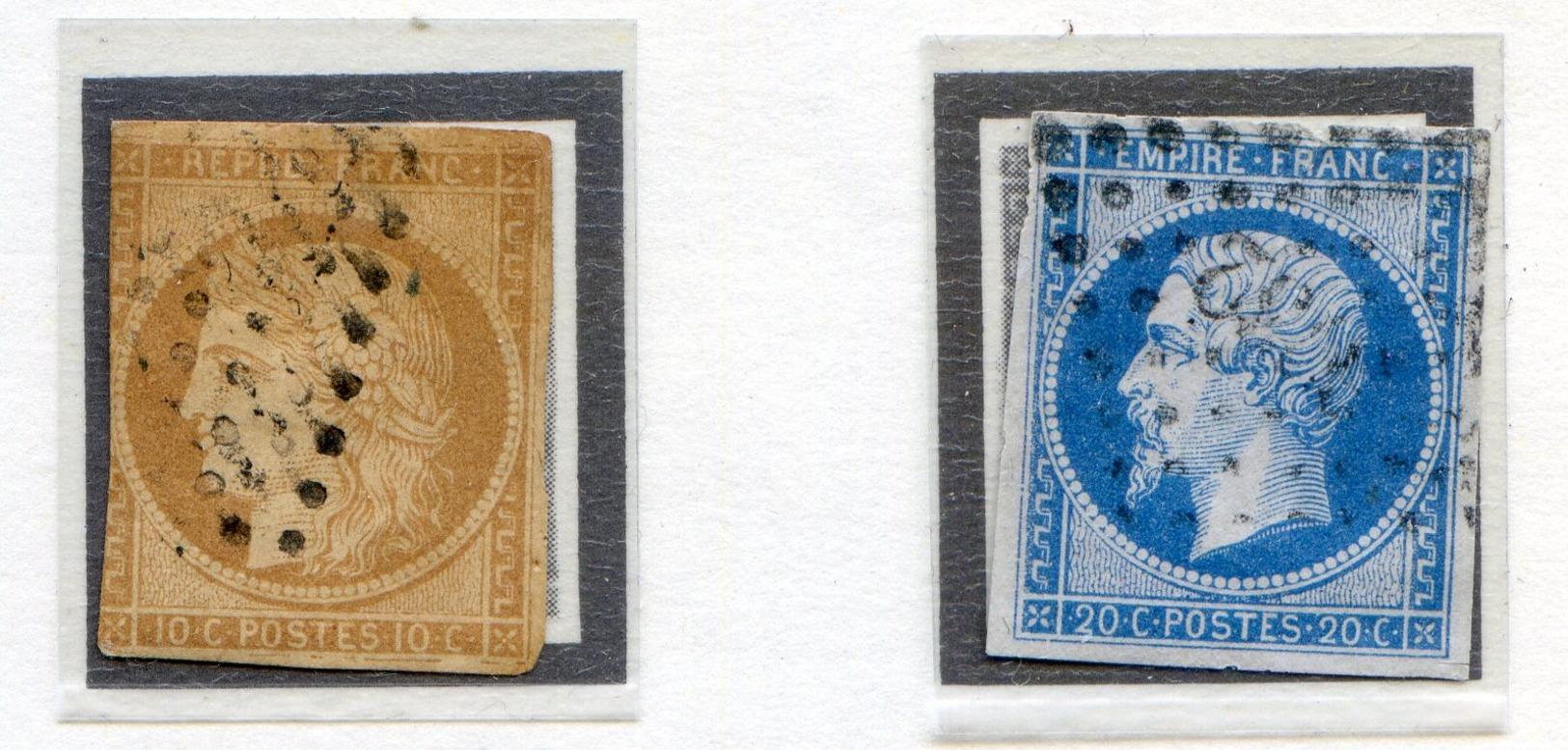 SECOND EMPIRE N°13B Et 14 Oblitéré - Frankreich