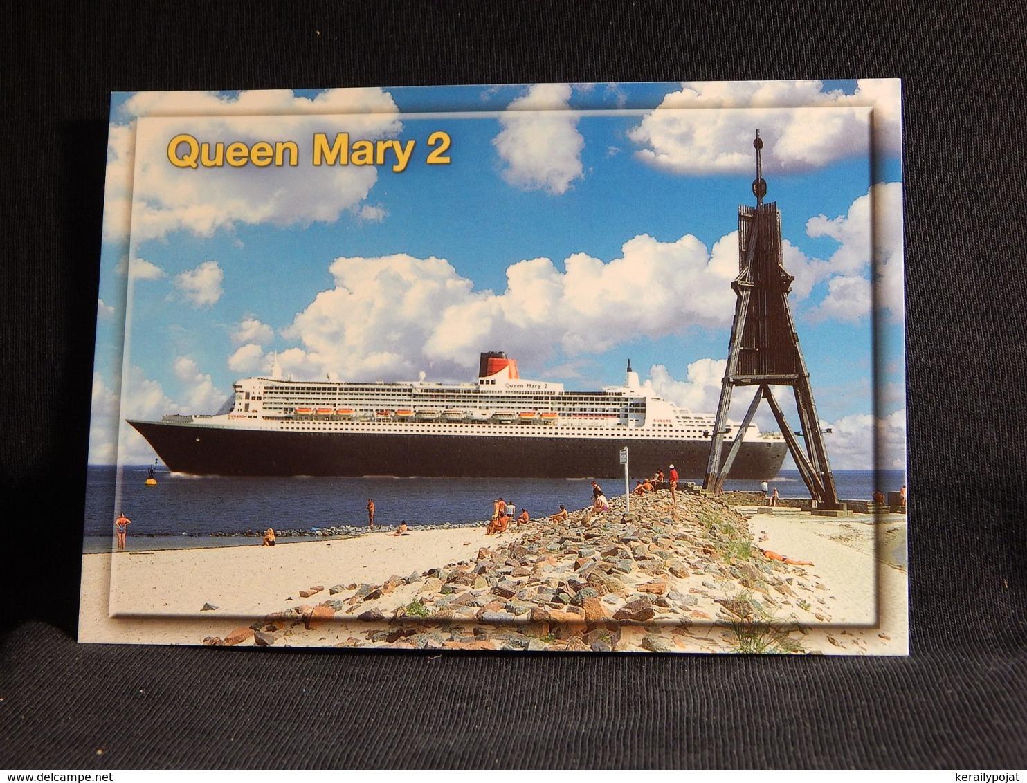 Cuxhaven Queen Mary 2__(U-1823) - Schiffe