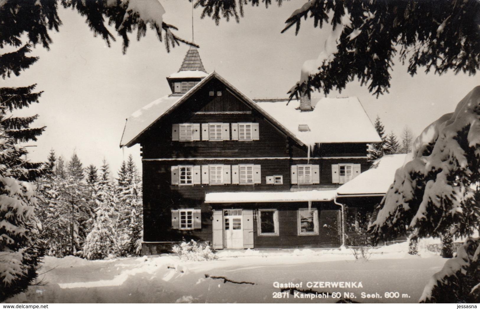 AK - NÖ - KAMPICHL - Gasthof CZERWENKA - Neunkirchen