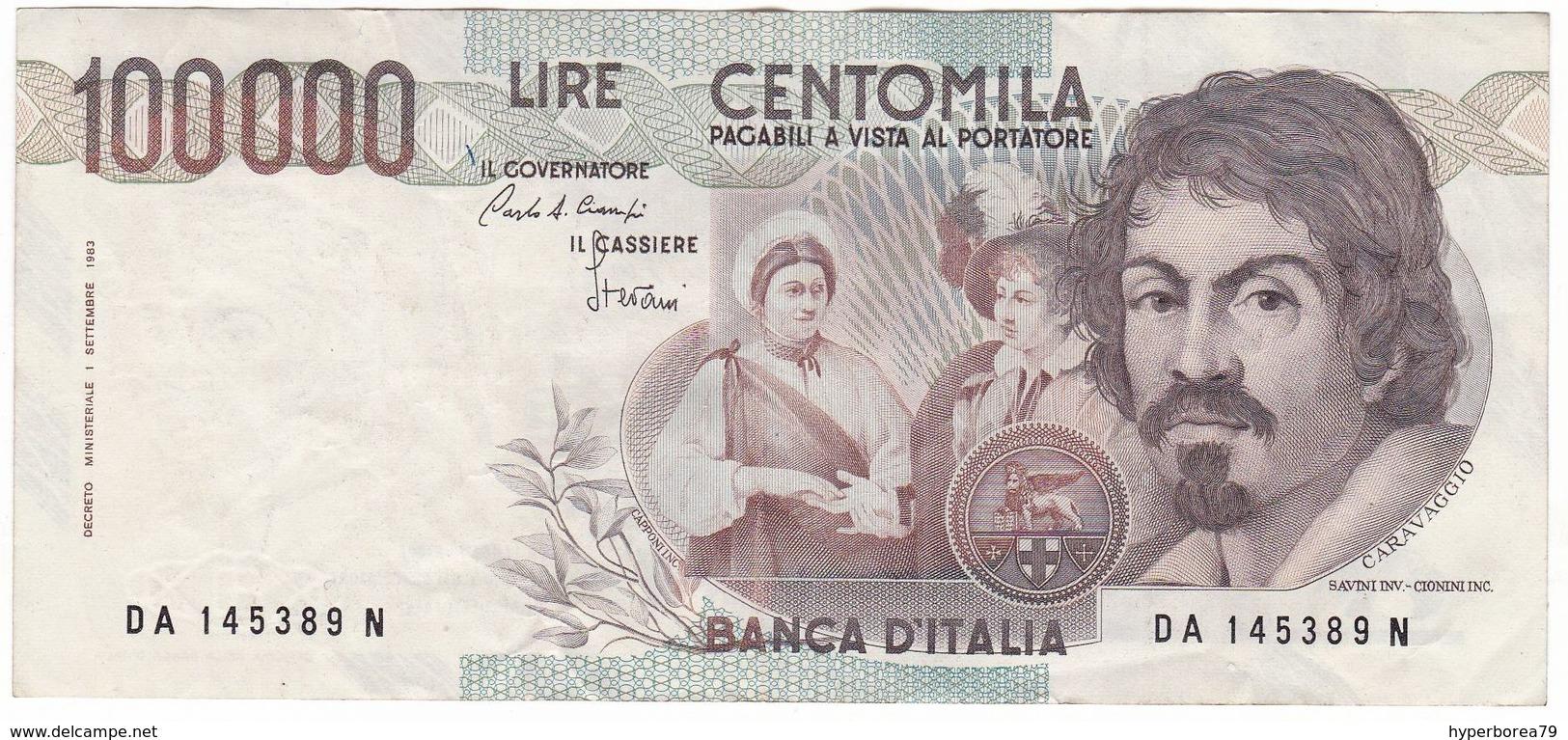 Italy P 110 A - 100,000 Lire 1.9.1983 - VF - [ 2] 1946-… Republik