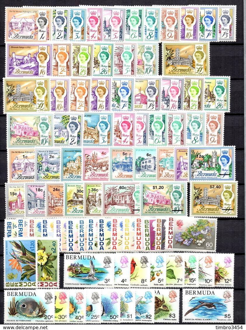 Bermudes YT N° 163/179 (2), N° 226/242, N° 243/259 Et N° 353/369 Neufs **/*. TB. A Saisir! - Bermudes