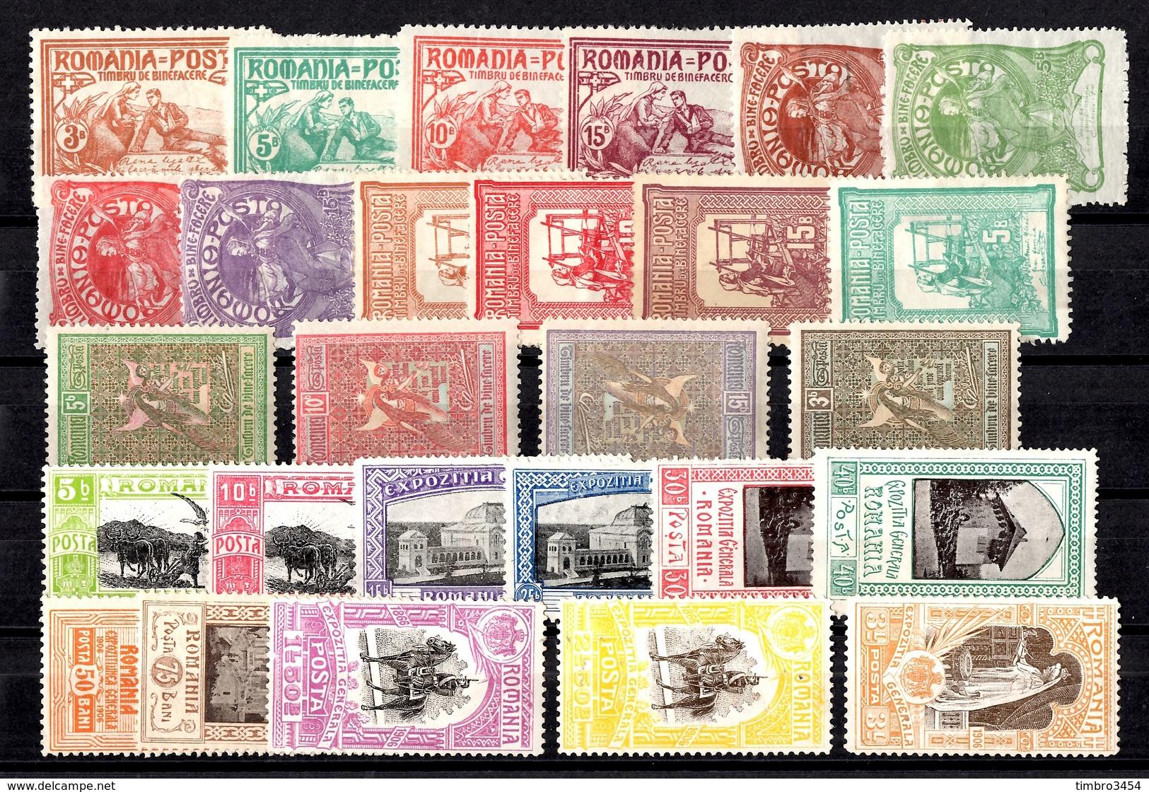 Roumanie YT N° 156/171 Et N° 192/202 Neufs *. B/TB. A Saisir! - 1881-1918: Charles Ier