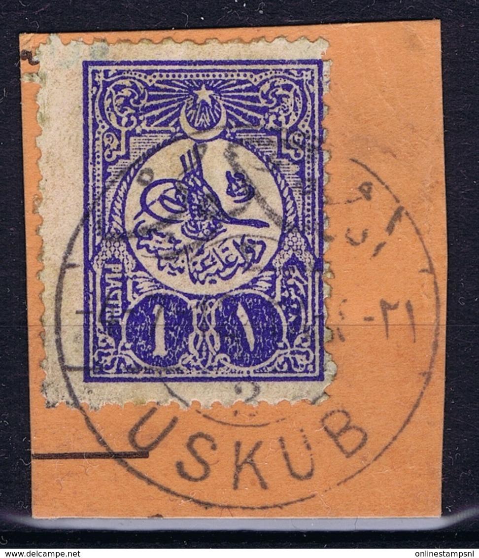 Ottoman Stamps With European CanceL  USKUB 2 SKOPJE NORTH MACEDONIA Signiert /signed/ Signé - Gebruikt