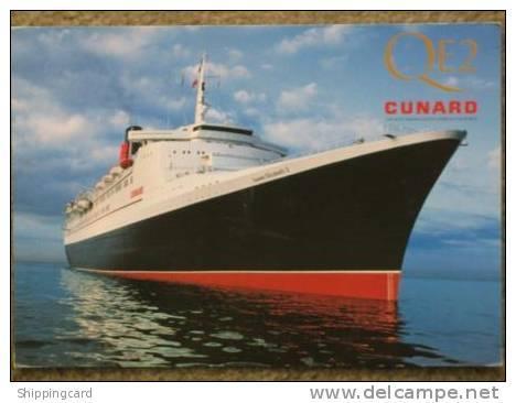 CUNARD QUEEN ELIZABETH 2 (QE2) AT SEA OFFICIAL - Steamers