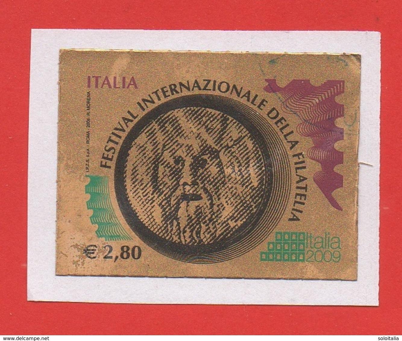 2008 (3061) -  Festival Internazionale Della Filatelia Euro 2,80 - Usato  (leggi Messaggio Del Venditore) - 6. 1946-.. Repubblica