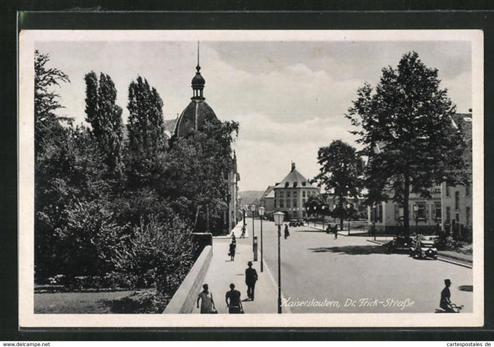 AK Kaiserslautern, Blick Auf Die Dr. Frick-Strasse - Kaiserslautern