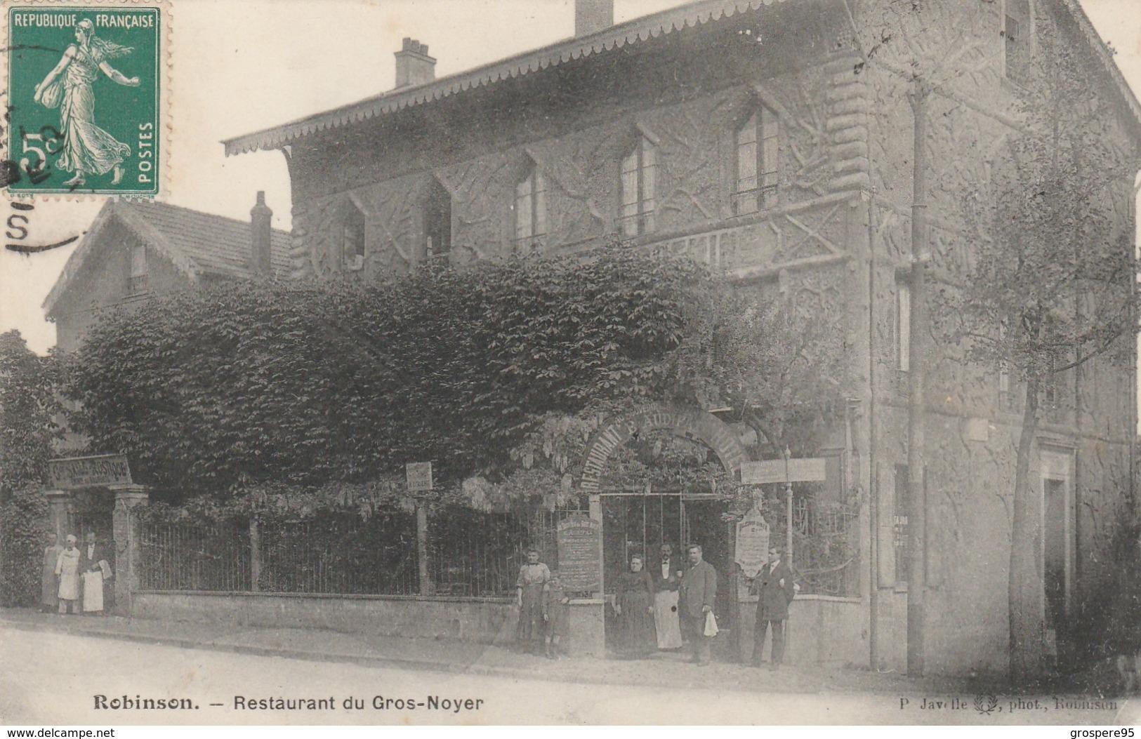 ROBINSON RESTAURANT DU GROS NOYER - Autres Communes