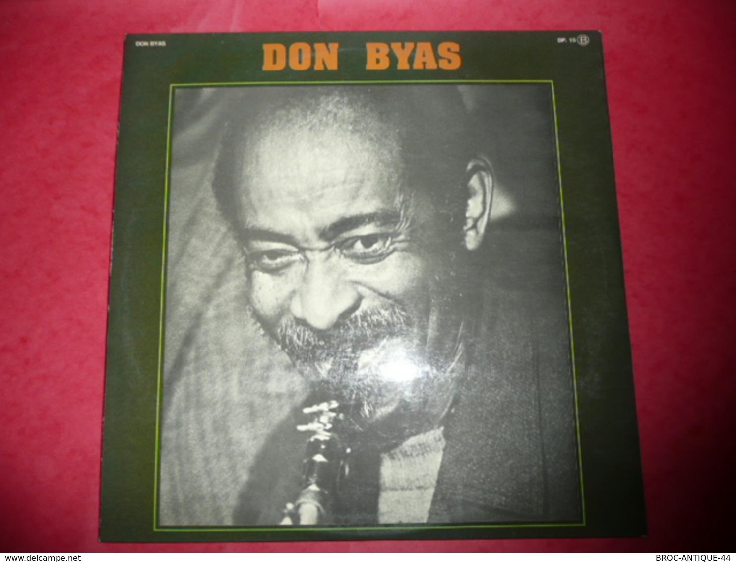 LP33 N°1060 - DON BYAS - MEMORIAL - COMPILATION 2 LP 24 TITRES JAZZ - Jazz