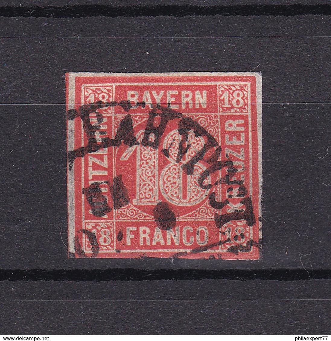 Bayern - 1862 - Michel Nr. 13 - Gest. - 200 Euro - Bayern