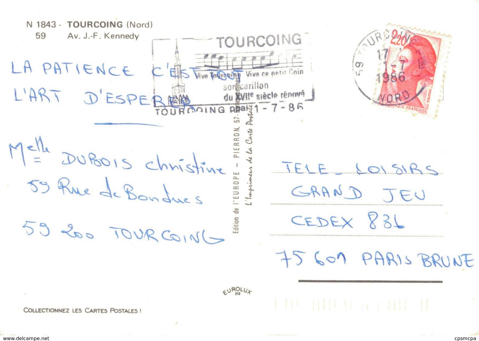 59 - TOURCOING / AVENUE JOHN FITZERALD KENNEDY - Tourcoing