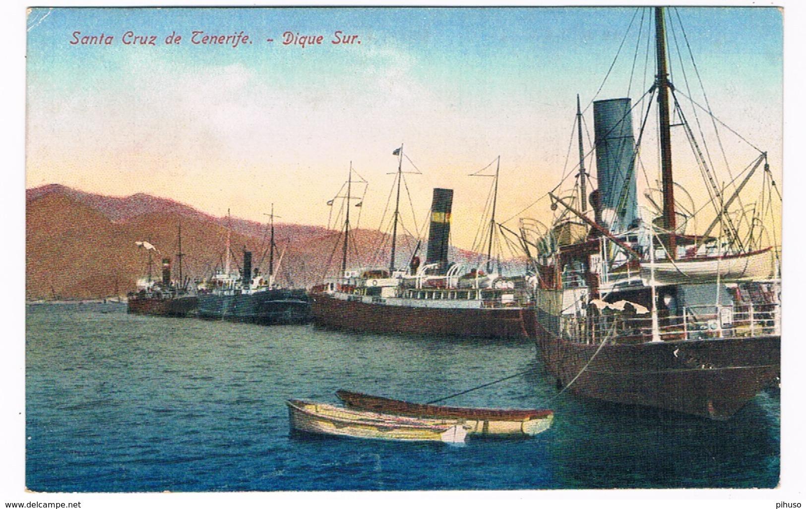 ES-2300  SANTA CRUZ DE TENERIFE : Digue Sur - Tenerife