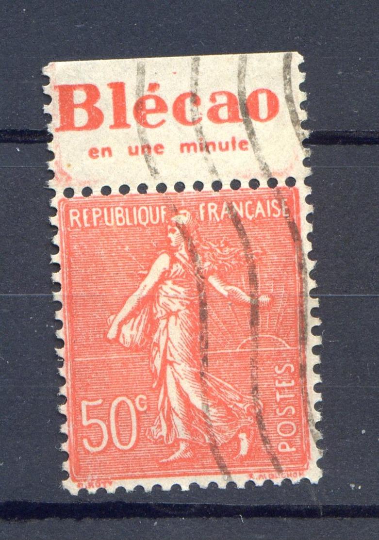 TIMBRE FRANCE N° 199 Publicité ...oblitéré - Frankreich