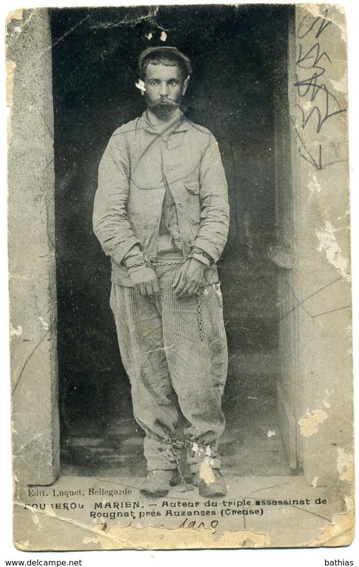 AUBUSSON. Enterrement De Marien BOUGEROL (carte Photo Rare) + Autre Carte Offerte - Aubusson