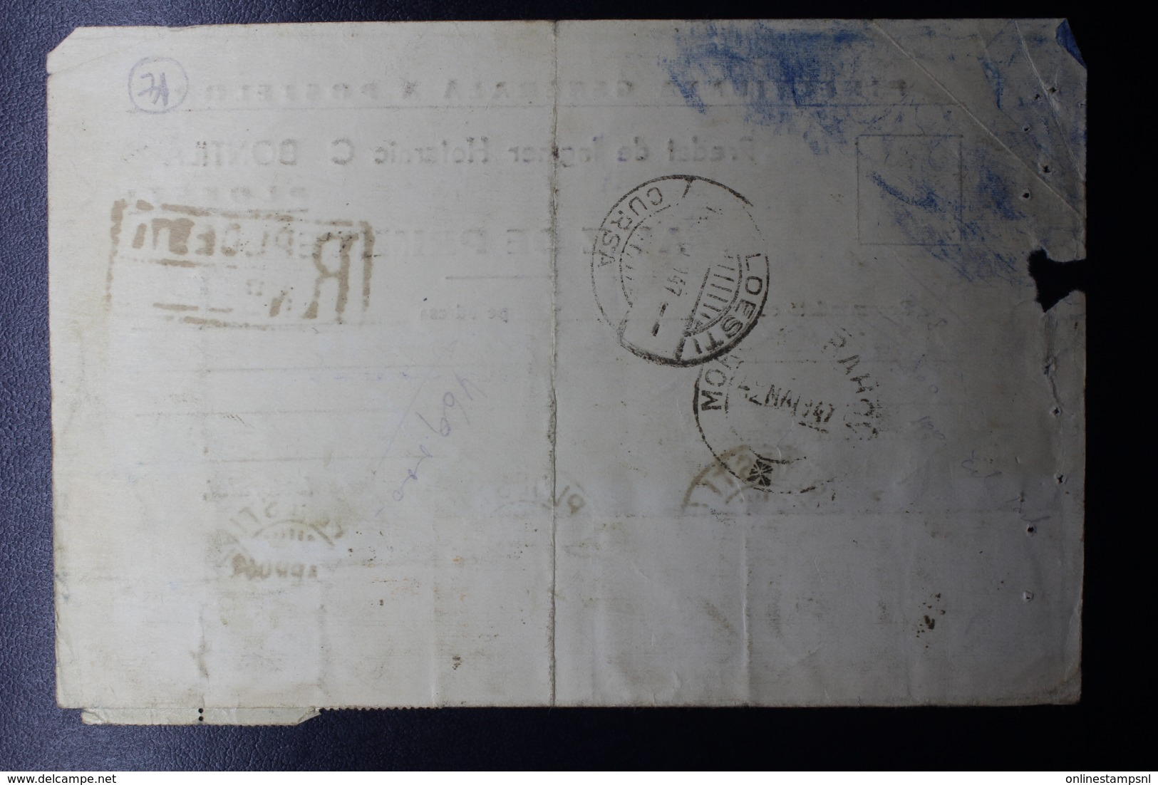 Romania Advise Of Delivery Mixed Stamps, From Ploesti Cds To Morem Cds, 1947 - Brieven En Documenten