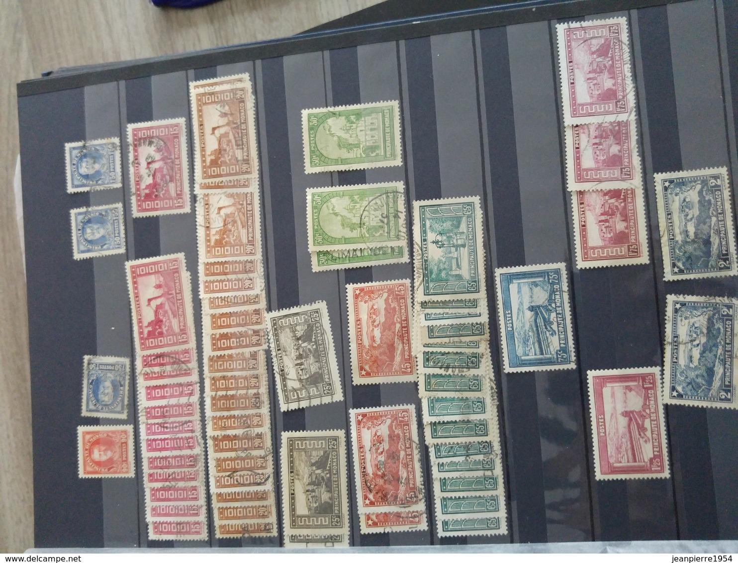 Timbres Monaco Neufxxx Et Oblitere Grosse Cote - Stamps